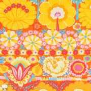 Kaffe Fassett Artisan Embroided Flower - Yellow